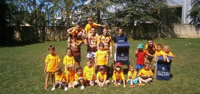 Benjamines: basket, rugby… juegos cooperativos