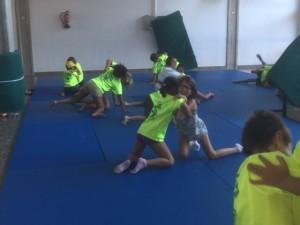 Escuela de Verano de Jaca. Taller de Judo