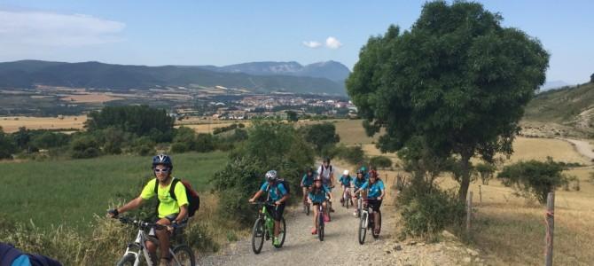 Infantiles- Subida ciclista a Ipas