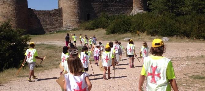 Los Benjamines al asalto del Castillo de Loarre