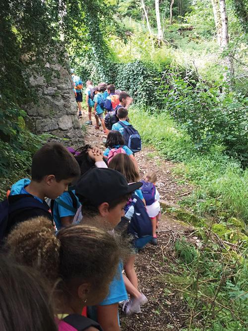 Excursiones y acampadas en la Escuela de Verano de Jaca